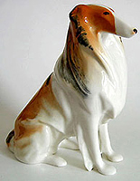 Collie Porcelain Figurine