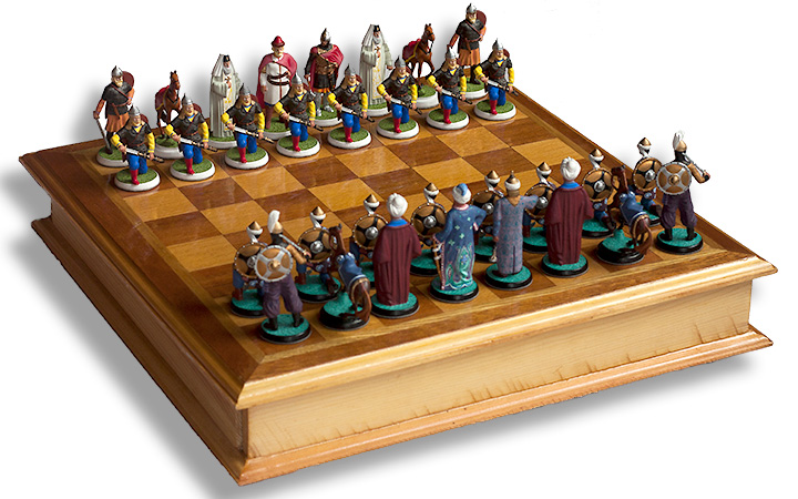 Russians and Turks Chess Set