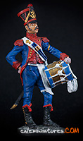 French Light Infantry Drummer